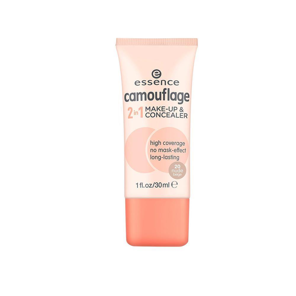 essence cosmetics Camouflage 2 In 1 Make-Up & Concealer