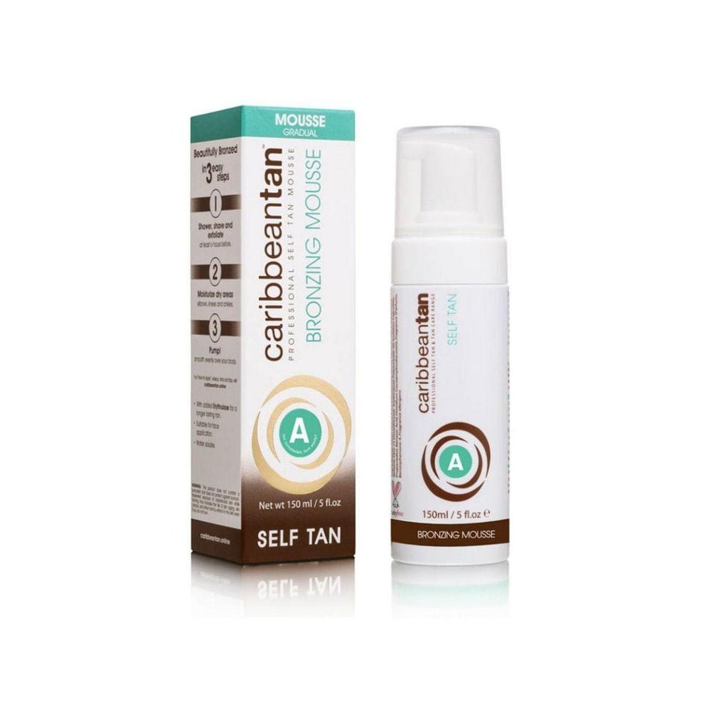 Caribbeantan Bronzing Mousse - Gradual Self tan 150ml