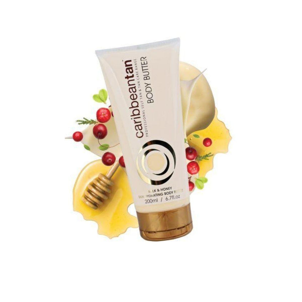 Caribbeantan Milk & Honey Hydrating Body Butter 200ml