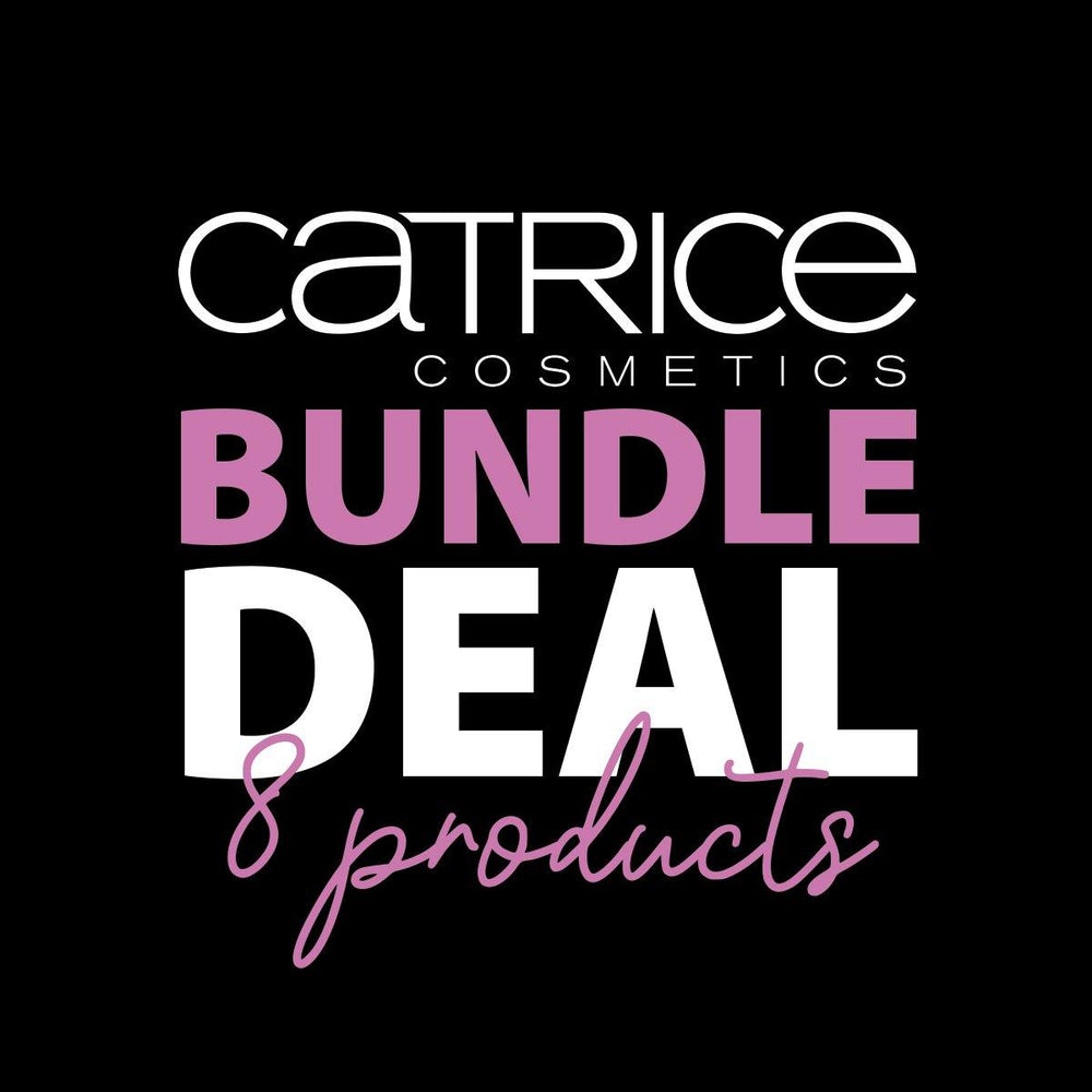 Catrice – 8 Product Bundle Offer - ONLY  R129.99 Value = R644.60 SAVE 80%!!!