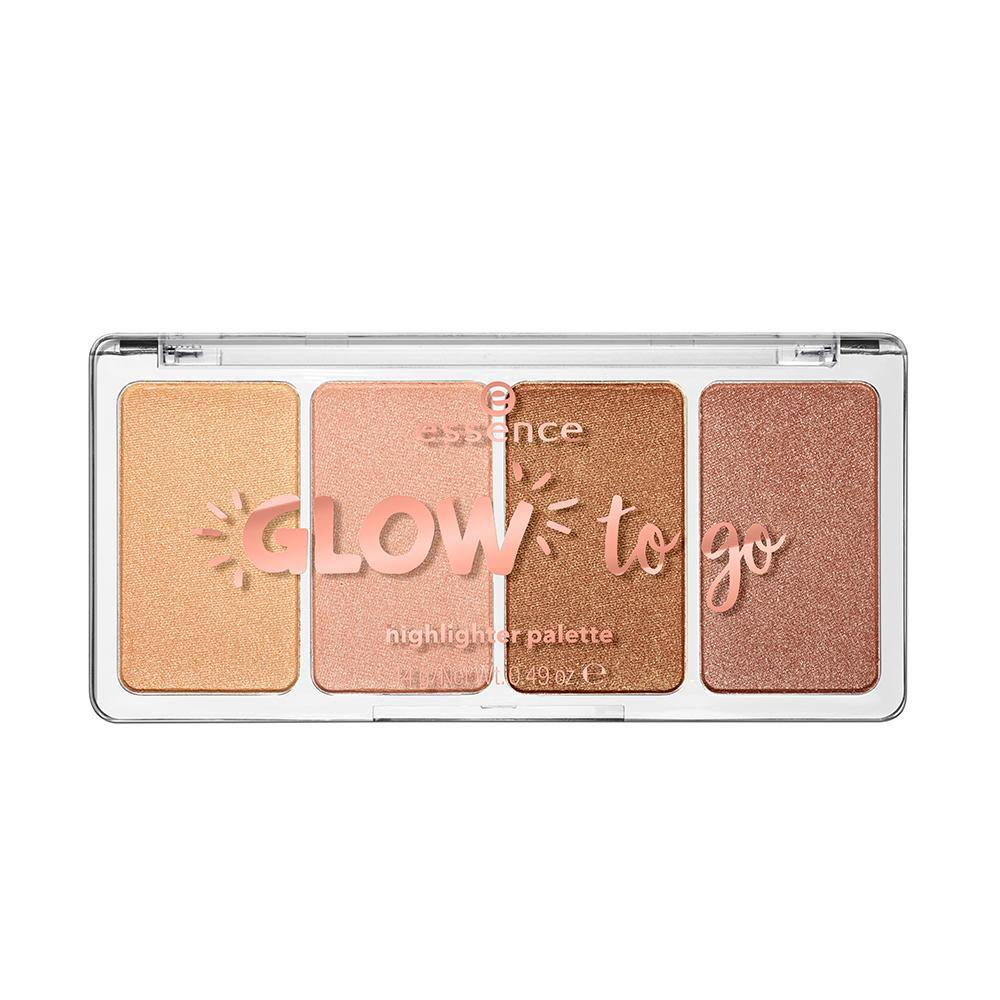 essence cosmetics Glow To Go Highlighter Palette