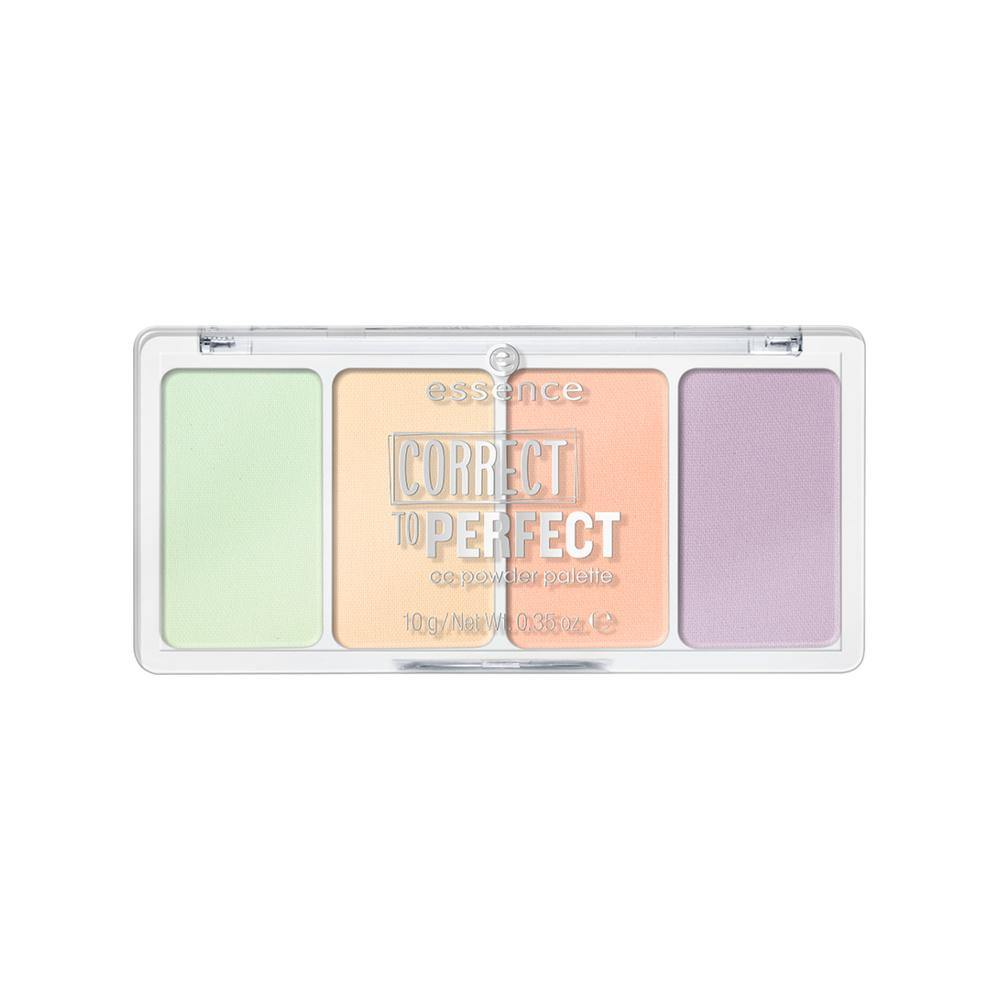 essence cosmetics Correct To Perfect Cc Powder Palette | 10