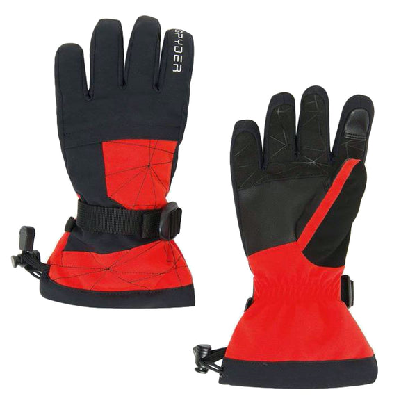 Spyder Boys' Overweb Ski Gloves - Mountain Kids Canada
