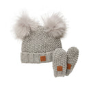 Kombi Adorable Infant Hat/Mittens Set - Mountain Kids Canada