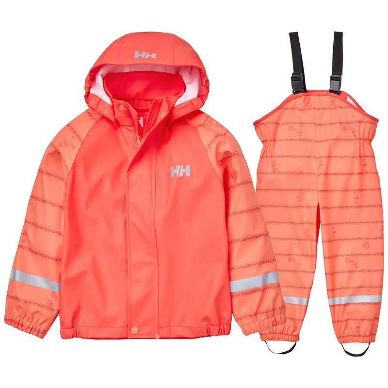 Helly Hansen Kids Bergen AOP PU Rainset - Mountain Kids Canada