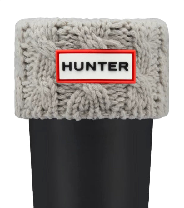 Hunter Kids' 6-Stitch Cable Boot Socks