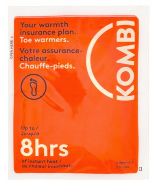 Kombi Toe Warmers (Pair) - Mountain Kids Canada