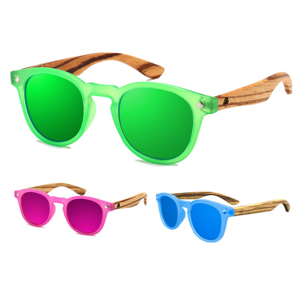 Wildwood Kids Cat Eye Polarized Sunglasses (3-9 yrs) - Mountain Kids Canada