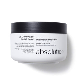 Le gommage corps eclat<br> Gentle Body Scrub