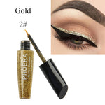 PHOERA® Glitter Liquid Eyeliner Long Lasting Quick Dry Easy To Wear