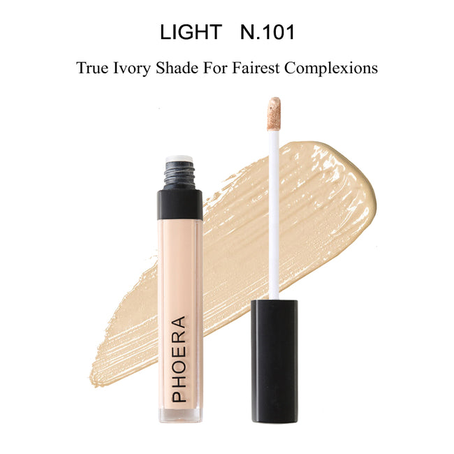 PHOERA® Concealer Makeup Full Coverage Matte Brightening Long Lasting