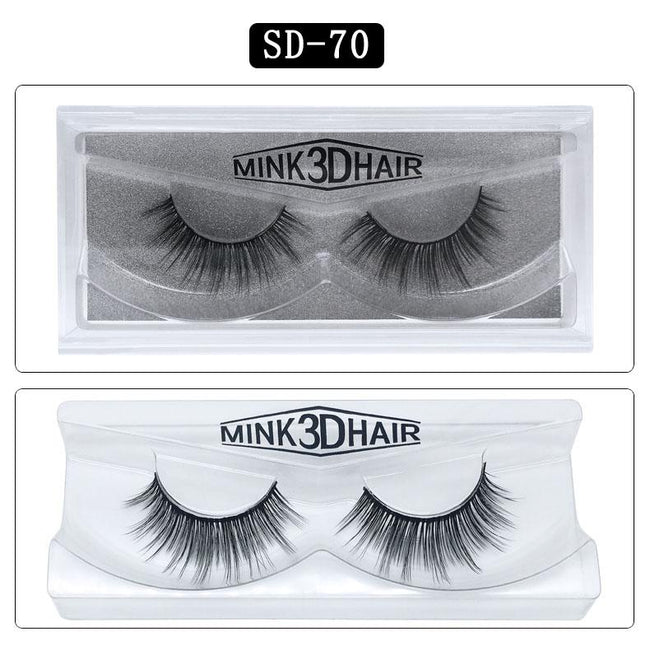 3D Mink High Quality Long Eyelashes