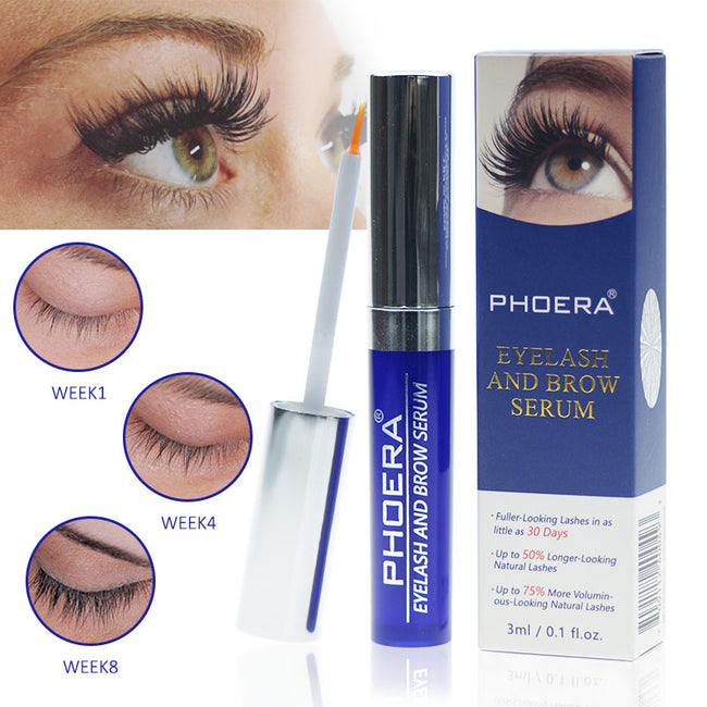 PHOERA® Eyelash and  EyeBrow 2 in 1 Rapid Growth Serum Lengthen Thickening  Enhancer