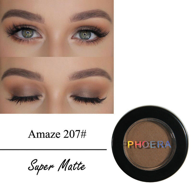 PHOERA® Matte Eyeshadow Velvet Long Lasting Professional Makeup Eye Shadow