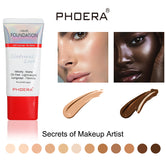 NEW! PHOERA® Velvet Liquid Matte Buildable Coverage 24 Hour Long Lasting Foundation