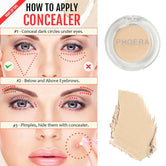 PHOERA®FULL COVERAGE CREAM CONCEALER MATTE FOUNDATION