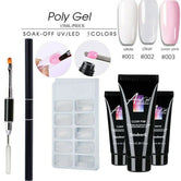 Neutral 5 pcs Nail Poly Gel Kit