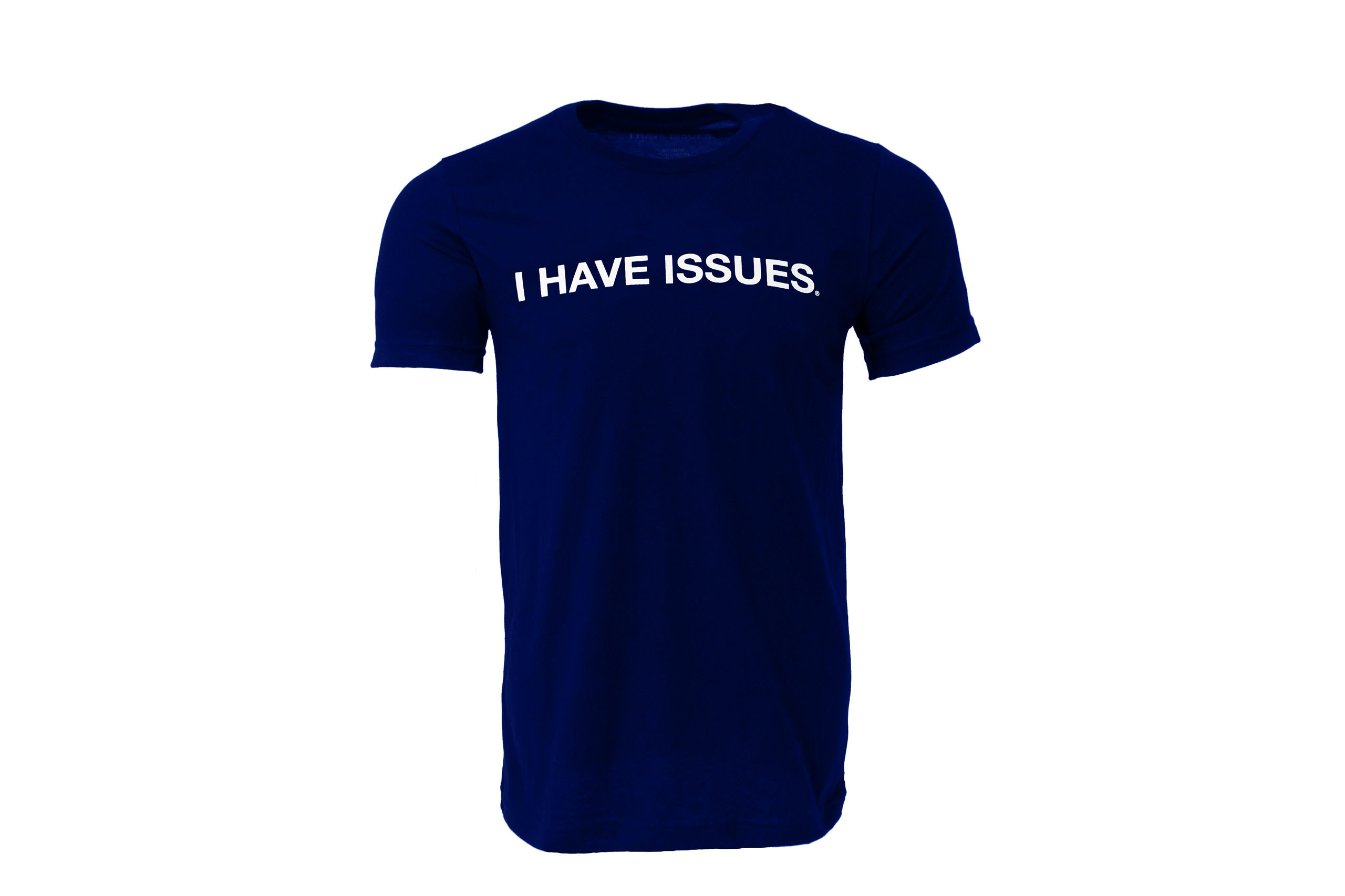 I Have Issues, Navy Tee