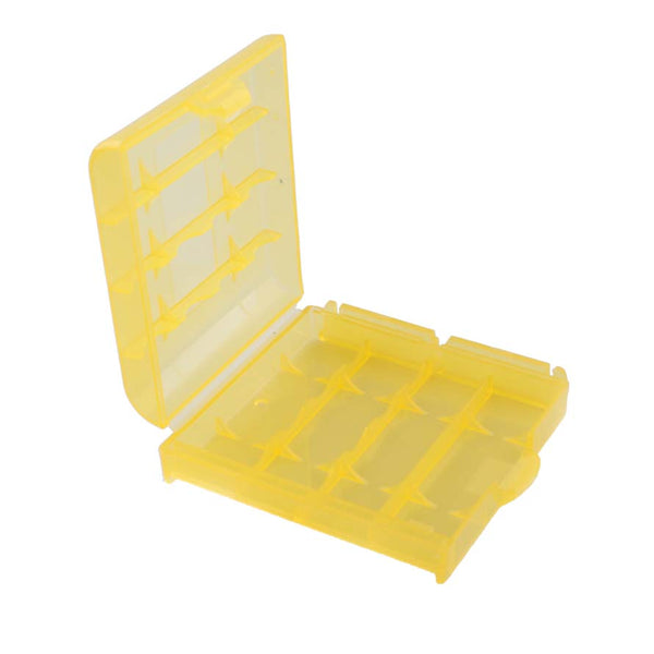 Yellow Storage for batteries