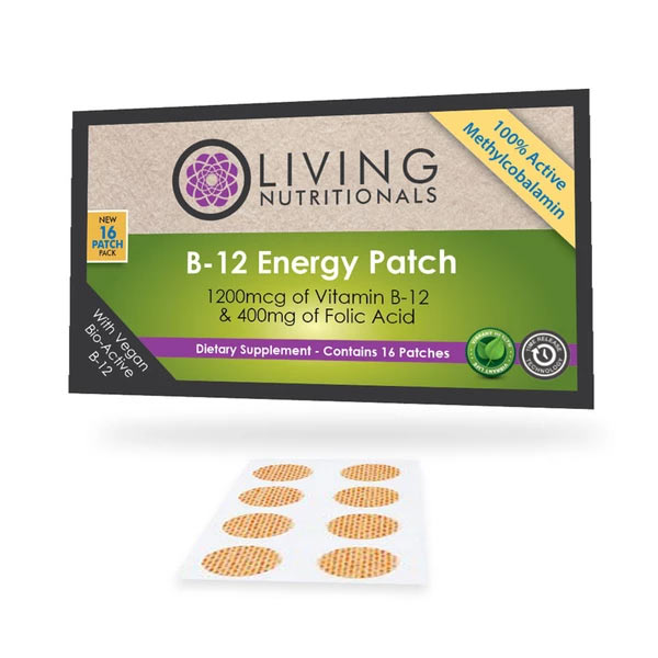 Vitamin B12 Patches w/ Folic Acid