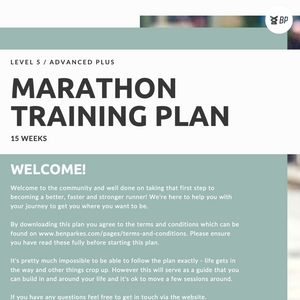 Load image into Gallery viewer, Marathon Plan Advanced Plus - L5