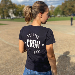 Load image into Gallery viewer, #gettingitdone Crew Womens Tee
