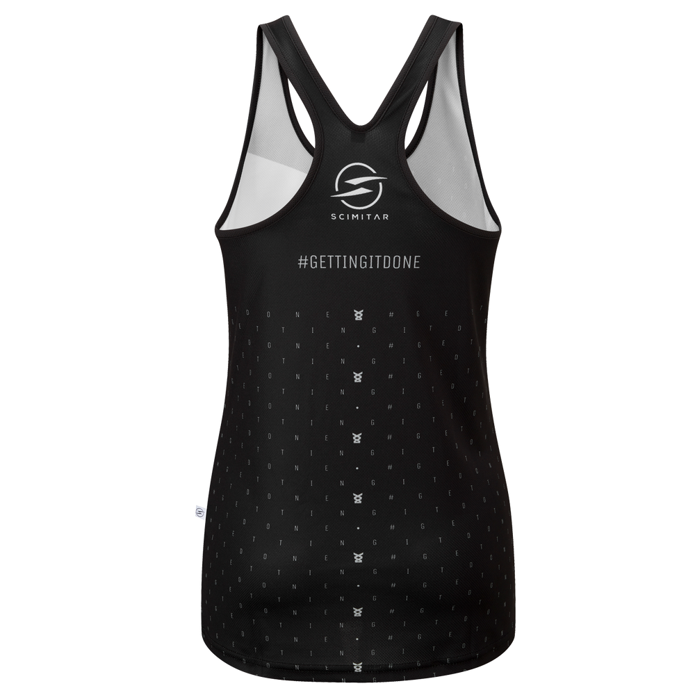 Load image into Gallery viewer, #gettingitdone Crew Ladies Running Singlet
