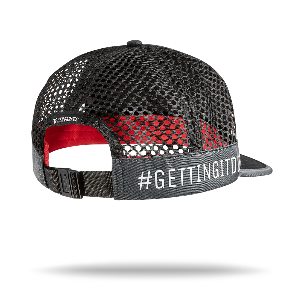 Load image into Gallery viewer, #gettingitdone Duo Black and Red