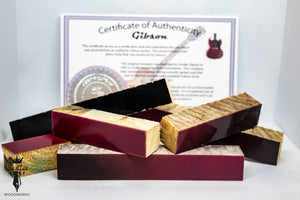 Gibson Guitar Pen Blanks