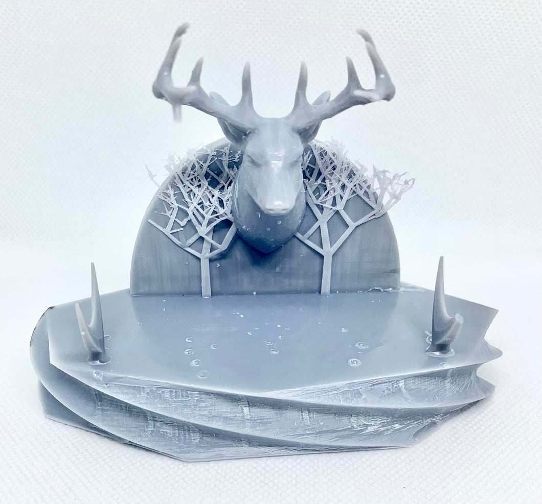 Deer Head Pen Stand