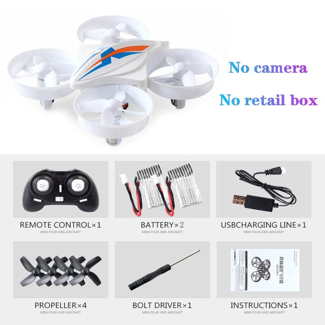 2.4G Mini RC Small Drone S22 Quadrocopter Elicoptero de Controle Remoto With One Key Return Headless Mode Toy For Children