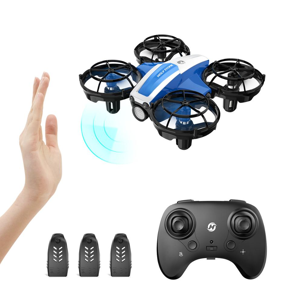 Holy Stone HS330 Hand Operated Mini Drone for kids Remote Control Quadcopter with Altitude Hold,  Throw to Go ,Circle Fly