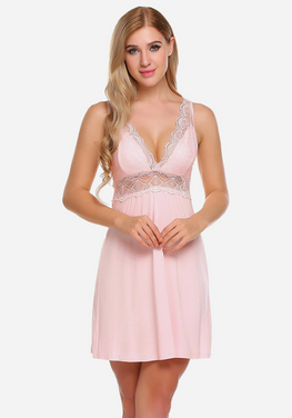 Imogen Backless Lace Sleepwear