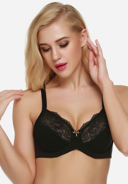 Lismay Full Cup Underwire Lace Bra