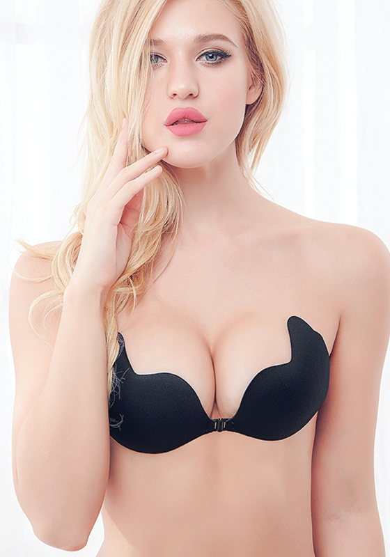 Leti Invisible Adhesive Push Up Bra