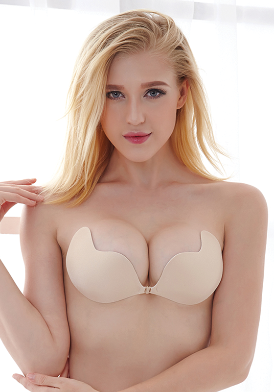 Vemia Seamless Solid Strapless Bra