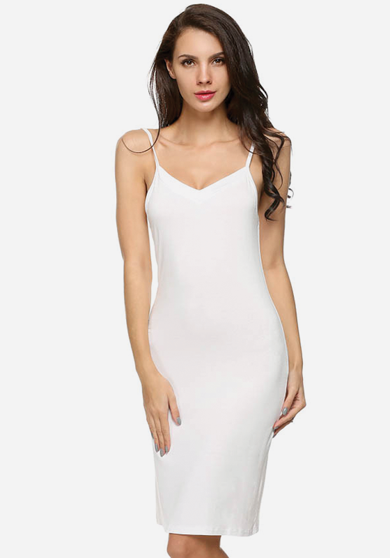 Inala Sleeveless V-Neck Nightdress