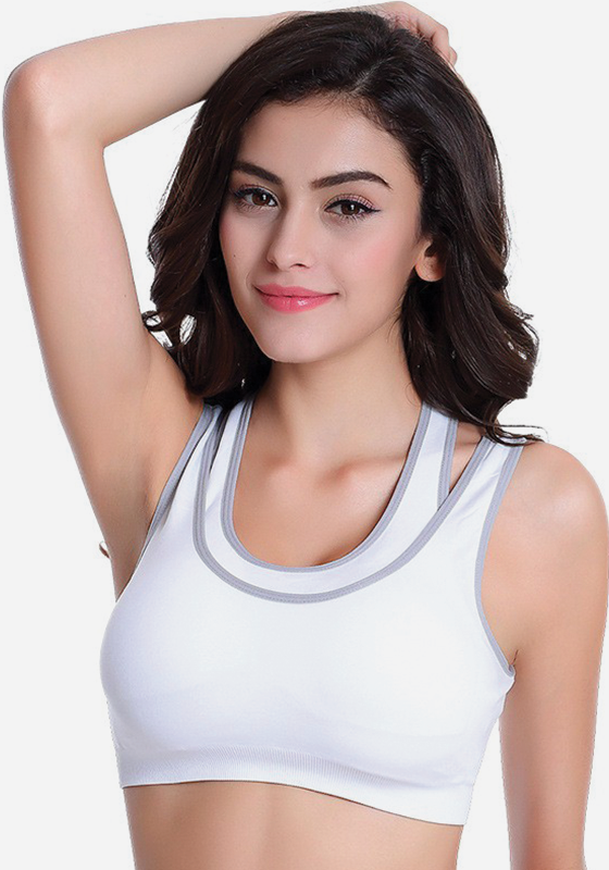 Levonra Workout Bustier Crop Top Tank