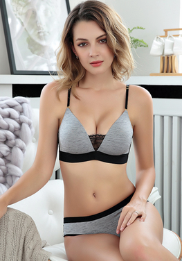 Isvan Wire Free Breathable Bra Set