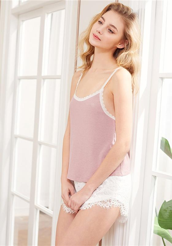 Rib Knit Pajamas Sets