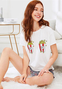 Popcorn Preppy Nightwear