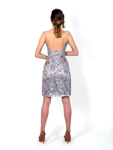 Formal dress above knee length