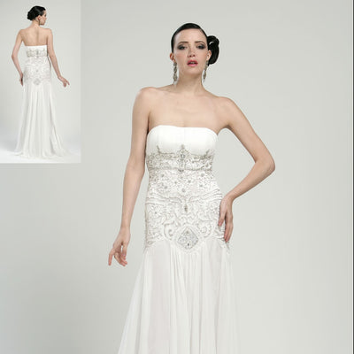 Sue Wong Gown White.