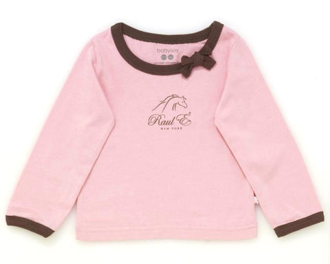 Raul E New York Baby-Girls' Soy Modern Tee With Bow 6-12 M Petal