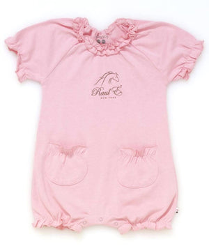 Raul E New York Baby-Girls' Soy Bubble Romper 18-24 M Petal.