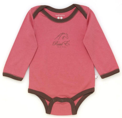 Raul E New York Baby-Girls' Long Sleeve Basic Body Suit 12-18 M Blossom