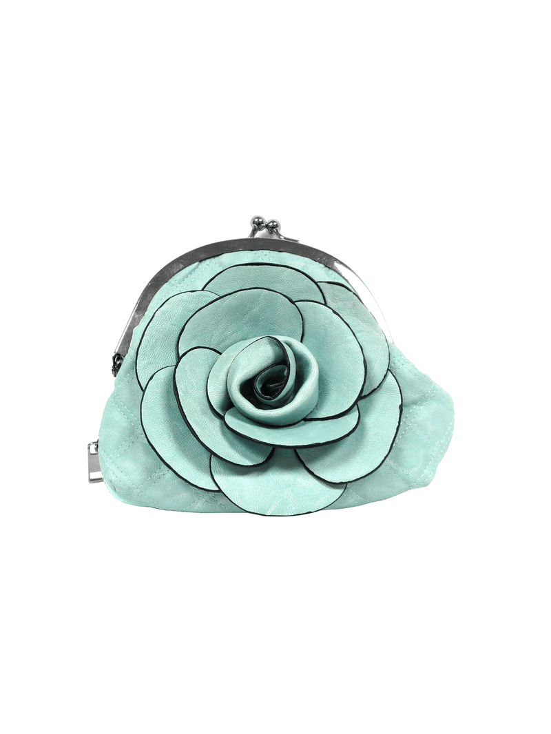 Blue Flower Bag