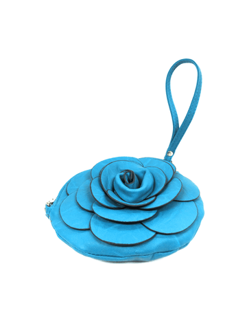 Dark Blue Flower Bag 2