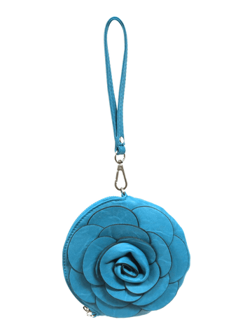 Dark Blue Flower Bag 3