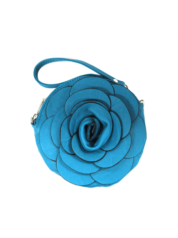 Dark Blue Flower Bag